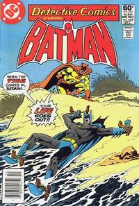 Cover for Detective Comics (DC, 1937 series) #509 [Direct Edition]