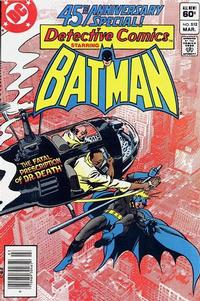 Cover Thumbnail for Detective Comics (DC, 1937 series) #512 [Newsstand]