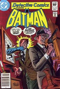 Cover Thumbnail for Detective Comics (DC, 1937 series) #516