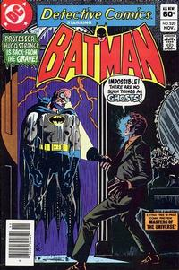 Cover Thumbnail for Detective Comics (DC, 1937 series) #520 [Newsstand]