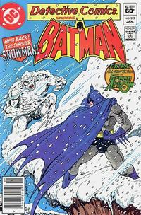 Cover Thumbnail for Detective Comics (DC, 1937 series) #522 [Newsstand]