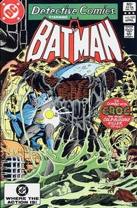 Cover Thumbnail for Detective Comics (DC, 1937 series) #525 [Direct]