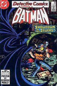 Cover Thumbnail for Detective Comics (DC, 1937 series) #536 [direct-sales]