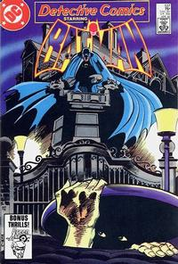Cover Thumbnail for Detective Comics (DC, 1937 series) #537 [Direct]