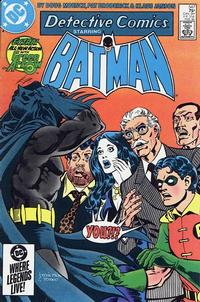 Cover Thumbnail for Detective Comics (DC, 1937 series) #547 [Direct Edition]