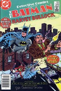 Cover Thumbnail for Detective Comics (DC, 1937 series) #549 [Newsstand]