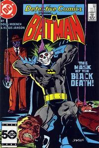 Cover Thumbnail for Detective Comics (DC, 1937 series) #553