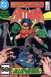 Cover Thumbnail for Detective Comics (DC, 1937 series) #557 [Direct Sales]