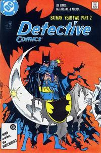 Cover Thumbnail for Detective Comics (DC, 1937 series) #576 [Direct]