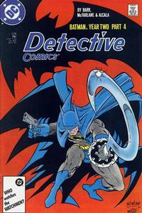 Cover Thumbnail for Detective Comics (DC, 1937 series) #578 [Direct]