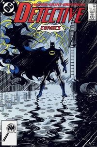 Cover for Detective Comics (DC, 1937 series) #587 [Direct]