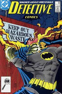 Cover Thumbnail for Detective Comics (DC, 1937 series) #588
