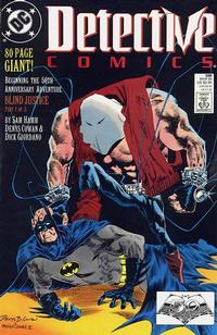 Cover Thumbnail for Detective Comics (DC, 1937 series) #598 [Direct]