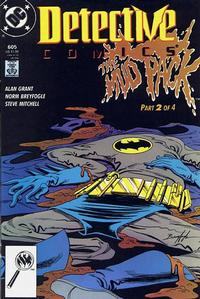 Cover Thumbnail for Detective Comics (DC, 1937 series) #605 [Direct]