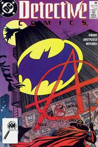 Cover Thumbnail for Detective Comics (DC, 1937 series) #608 [Direct]