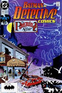 Cover Thumbnail for Detective Comics (DC, 1937 series) #615 [Direct]
