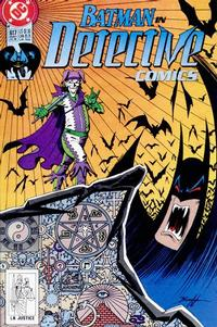 Cover Thumbnail for Detective Comics (DC, 1937 series) #617 [Direct]