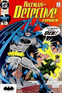 Cover Thumbnail for Detective Comics (DC, 1937 series) #622