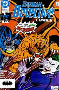 Cover Thumbnail for Detective Comics (DC, 1937 series) #623
