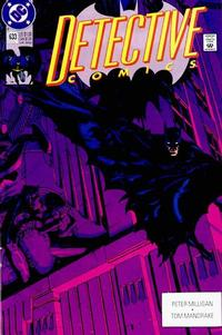 Cover Thumbnail for Detective Comics (DC, 1937 series) #633 [Direct]
