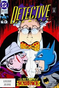 Cover Thumbnail for Detective Comics (DC, 1937 series) #642