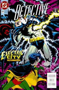 Cover for Detective Comics (DC, 1937 series) #644