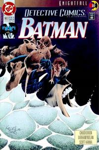 Cover Thumbnail for Detective Comics (DC, 1937 series) #663 [Direct]
