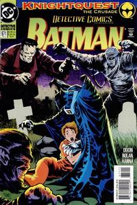 Cover Thumbnail for Detective Comics (DC, 1937 series) #671