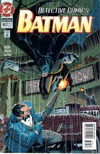 Cover for Detective Comics (DC, 1937 series) #684 [Direct Edition]