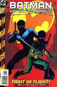 Cover Thumbnail for Detective Comics (DC, 1937 series) #727