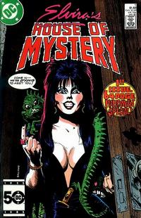 Cover Thumbnail for Elvira's House of Mystery (DC, 1986 series) #1 [Direct]