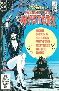 Cover Thumbnail for Elvira's House of Mystery (DC, 1986 series) #5 [Direct]