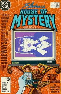 Cover Thumbnail for Elvira's House of Mystery (DC, 1986 series) #6 [Direct]
