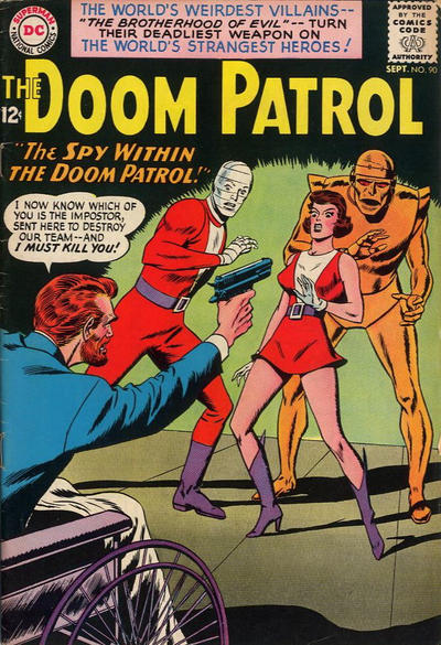 Cover for The Doom Patrol (DC, 1964 series) #90