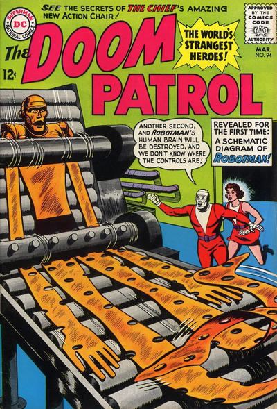 Cover for The Doom Patrol (DC, 1964 series) #94