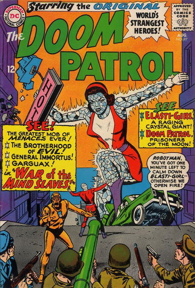 Cover for The Doom Patrol (DC, 1964 series) #97
