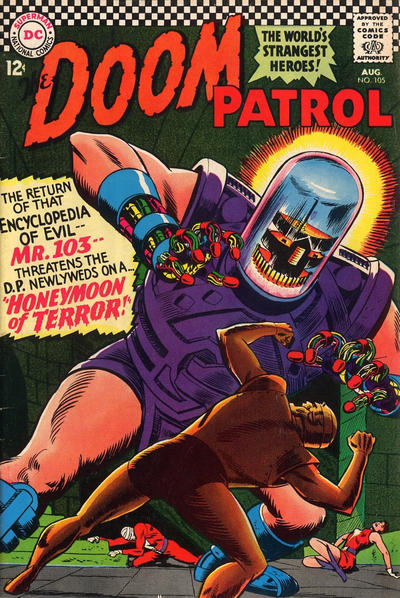 Cover for The Doom Patrol (DC, 1964 series) #105
