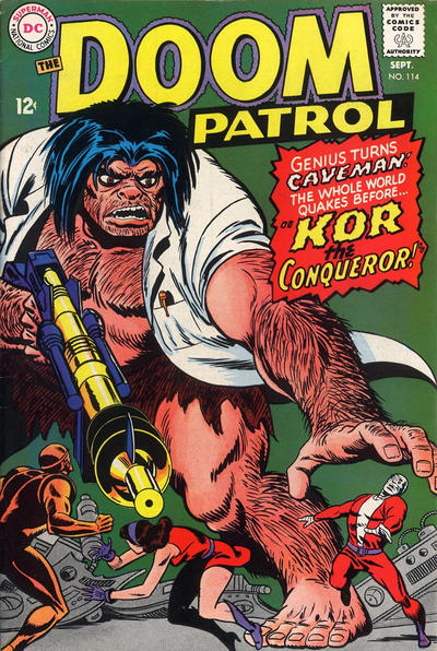 Cover for The Doom Patrol (DC, 1964 series) #114