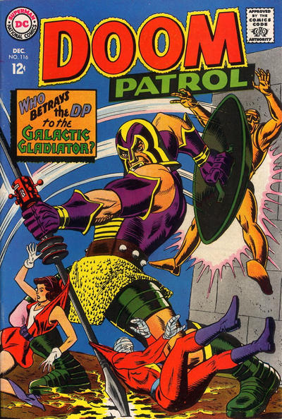 Cover for The Doom Patrol (DC, 1964 series) #116