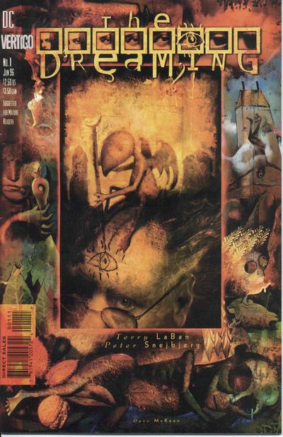 Cover for The Dreaming (DC, 1996 series) #1