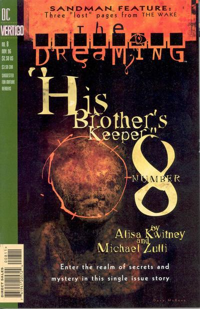 Cover for The Dreaming (DC, 1996 series) #8
