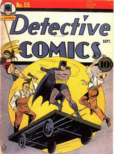 Cover for Detective Comics (DC, 1937 series) #55