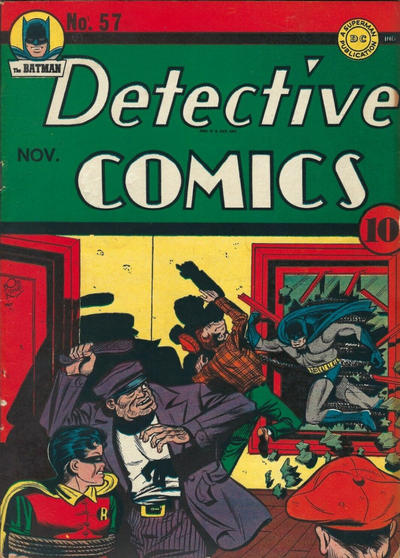Cover for Detective Comics (DC, 1937 series) #57