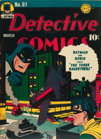 Cover for Detective Comics (DC, 1937 series) #61