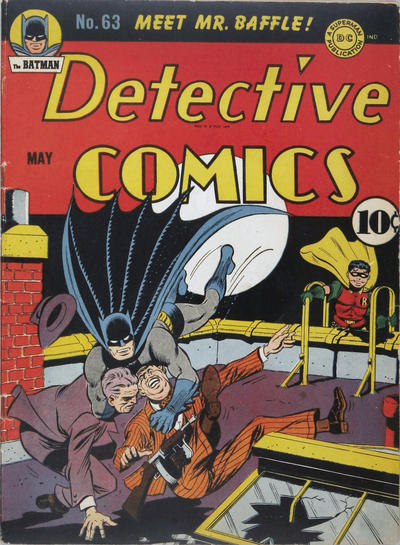 Cover for Detective Comics (DC, 1937 series) #63