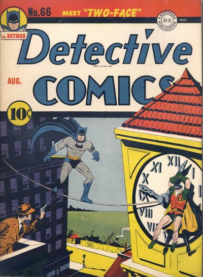 Cover for Detective Comics (DC, 1937 series) #66