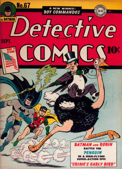 Cover for Detective Comics (DC, 1937 series) #67
