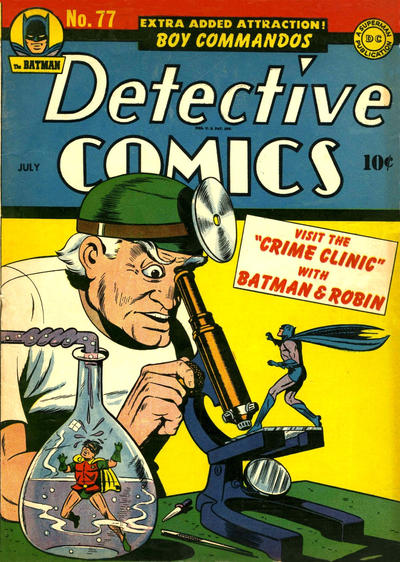 Cover for Detective Comics (DC, 1937 series) #77