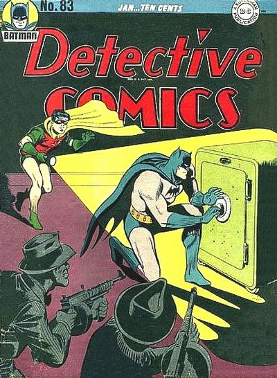 Cover for Detective Comics (DC, 1937 series) #83