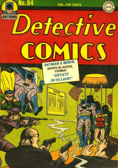 Cover for Detective Comics (DC, 1937 series) #84